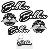 Bobber Laminated Sticker & Keyring set motorbike motorcycle Biker Triumph Custom