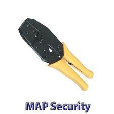Bnc mano arrugador herramienta crimpadora Rg58 Rg59 Plus Calble de trinquete con varias, f, Bnc, Tnc, N Conector