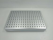 "* MEDICAL SURGICAL STERILIZATION STERIL TRAY 11-1/2"" x 7-1/2"" x 1-1/2"""