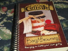Gifts in a Jar cookbook Spiral Bards and Brownies Recipes to Make Your own gifts