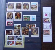 Romania 1970 1996 issues Europa Paintings Beethoven Stamp Day etc MNH