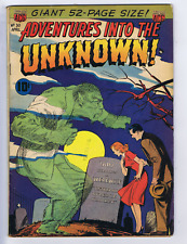 Adventures into the Unknown #30 ACG 1952