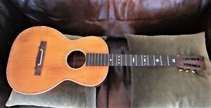 Antique American Vintage Guitar Old Rosewood (?) Parlor Project