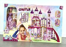 Simba Steffi Evi Love Puppenhaus Prinzessin Puppe Schloss Castle mit Zubehör