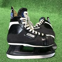 Bauer Junior Supreme 90 Hockey Skates Black Frame Size 3D Good condition