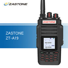 Zastone A19 10W Portable FM Radio VHF & UHF Dual Band Two Way Ham Walkie Talkie