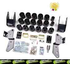 "2007-2013 Chevy GMC Silverado Sierra 1500 Zone Offroad 3"" Body Lift Kit 2WD/4WD"
