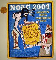 OA IOWA STATE UNIVERSITY FLAP TAPESTRY NOAC 2004 DELEGATE JACKET PATCH