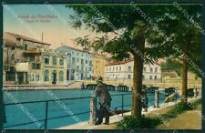 Verona Lago di Garda Peschiera cartolina QK7436