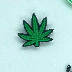 Shoe Charms for Crocs Weed Hemp Marijuana Pot Hookah   Clogs Bracelet Craft Gift