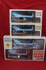 1-64 Australian Kenworth Freight Road Train Blue/Cyan + 2 extra Trailer dollys