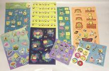 Lot of Spongebob Squarepants Stickers Patrick Squidward Gary Sandy Plankton