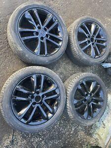 "Vauxhall 17"" Black Alloys 5 Stud X 4.  5x112"