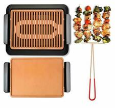 Gothem Steel 1811 Indoor Electric Grill - Brown