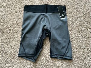 "NEW Adidas Alphaskin mens 10"" compression shorts"