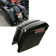 "5"" Stretched Saddle Bag Saddlebags Fit For Harley Touring Road Glide 2014-up 19"