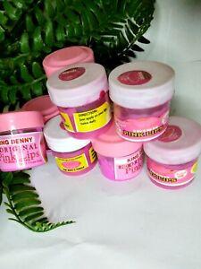 Effective Pink Lips Lightening Balm &Pink lip Scrub Visible Results 15g