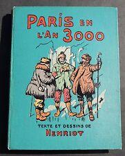 HENRIOT. Paris en l'An 3000. Laurens éditeur cartonnage polychrome