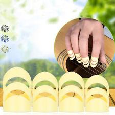 4PCS Same Color and Size High Quality Silicone Thumb Picks Finger Picks Plec_cd