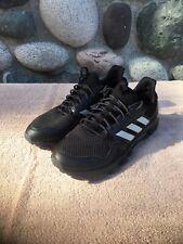 Mens Adidas Rockadia Trail Black Sport Athletic Running Shoes Size 12 F35860 EUC