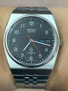 1976 Seiko Type II Quartz Watch 36mm (VGC)