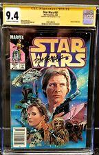 Star Wars #81 CGC 9.4 Signed Tom Palmer Mandalorian Return  SS