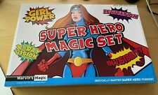 NEW - Marvin's Magic - SUPER HERO MAGIC SET - Girl Power Edition -  Magician Set