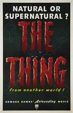 THE THING FROM ANOTHER WORLD Movie POSTER 27x40 B James Arness Kenneth Tobey