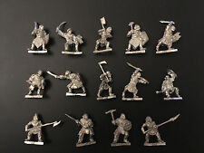 Warhammer-Zitadelle Lord of the Ringe HERR DER RINGE - ORC Krieger Metall OOP