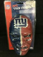 Franklin NFL Painted FAN FACE MASK NEW YORK GIANTS Football Scary New Sealed