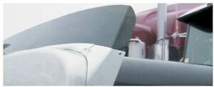 New Belmor 76000002-1 Smoke Aeroshield II for 1984-2018 Kenworth W900B, W900S