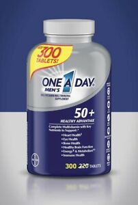One A Day Men's 50+ Multivitamin 300 Tablets, Always Fresh, NIB SHIP FROM STORE