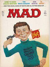MAD Magazine #222 UK Edition 1980