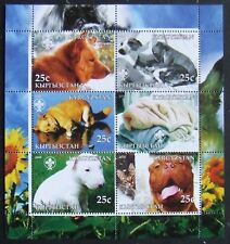 Kyrgyzstan(Russian local post) 2005 - Dogs, 1 M/Sh, MNH, KPLR 23