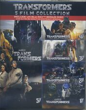 TRANSFORMERS 5 FILM COLLECTION - BLU RAY NUOVO