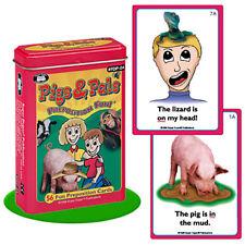 Pigs & Pals Preposition Flash Cards Fun Deck Super Duper Vocabulary Speech ESL