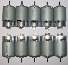 10 X Mabuchi RS-555 PH - 6V DC - 2500 RPM - High Torque - 5 Pole - Hobby Motor