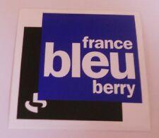Autocollant France Bleu Berry