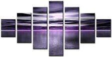 TALC Purple 98x78cm Large  wall art canvas print artwork home living room