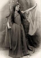 Antique Photo... Fairy Godmother Art Nouveau ... Photo  Print 5x7