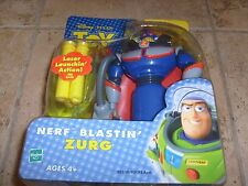 RARE TOY STORY MOVIE ZURG NERF BLASING ANDY'S ROOM FIGURE DISNEY PIXAR NEW MOC