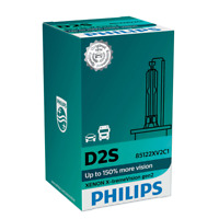 Philips D2S X-Treme Vision gen2 Xenon Brenner 150% mehr Sicht 85122XV2C1 1st.