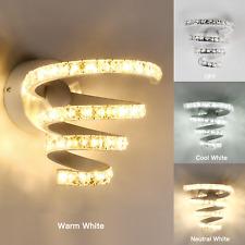 Luxury LED Crystal Wall Light Lamp Hallway Porch Bedroom Sconce Lighting Fixture