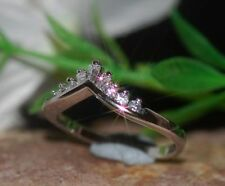Baguette Very Good Sterling Silver Fine Diamond Rings