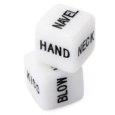 2Pc Sex Erotic Dice Game Couples Lover Fun Toy Adult Bachelor Party Romantic Aid