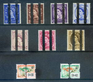 Great Britain Training School Bars on 1952 Definitives and others(2020/11/20#02)