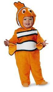 Disguise Baby's Nemo Prestige Infant Costume, Orange, 12-18, Orange, Size 12.0