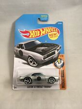 Hot Wheels '67 1967 Custom Pontiac Firebird Muscle Mania 1/10 Silver r3toystore