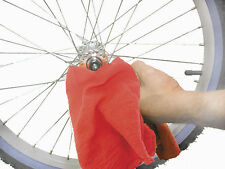 Sunlite Red Bike Shop Mechanics Garage Towels: CLOTH RED COTTON // 50 PACK