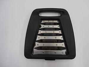 meister Doppel-Ratschen-Ringschlüssel Set 6 tlg